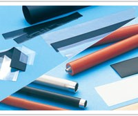Sample image : NST/SMT (Thin-walled non-shrinkable tube and shrinkable tube made from PFA and FEP fluoro resin)