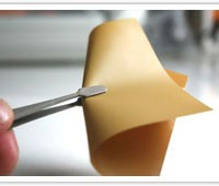 Sample image : PI (polyimide) insulation/ heat dissipation molding material