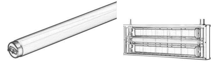 TST 誘虫灯用途事例
